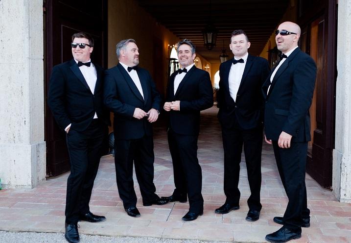 wedding bands Dublin - group shot