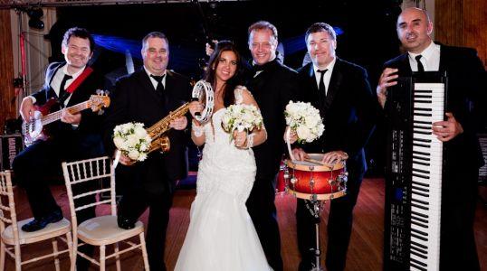 wedding bands ireland - group photo