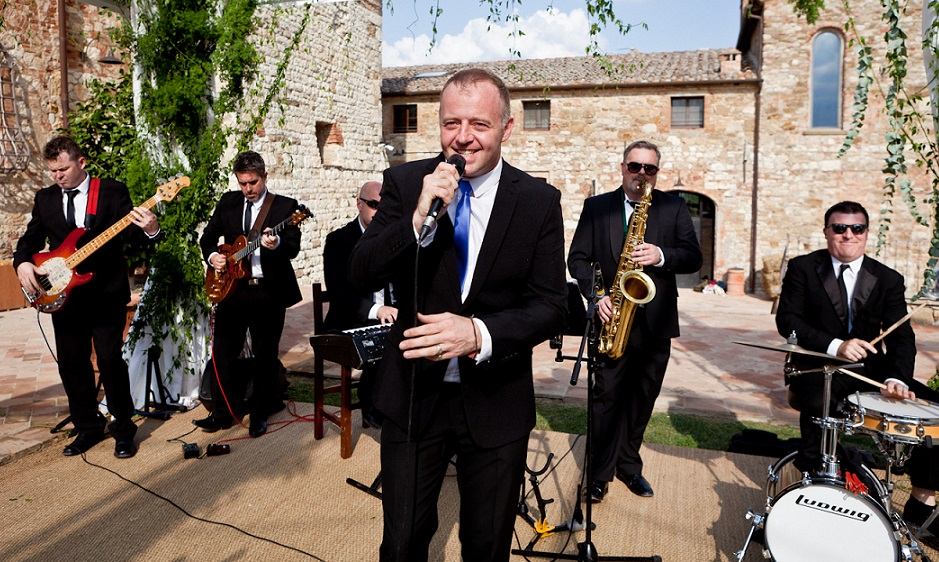Tuscany Wedding Harlequin Wedding Band Ireland