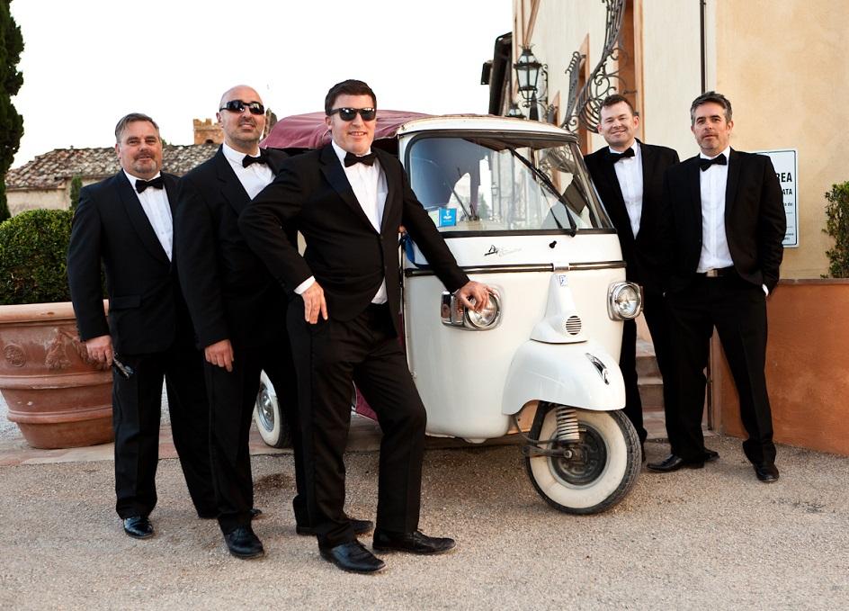 Wedding Band Ireland Steal A Car At Lake Como